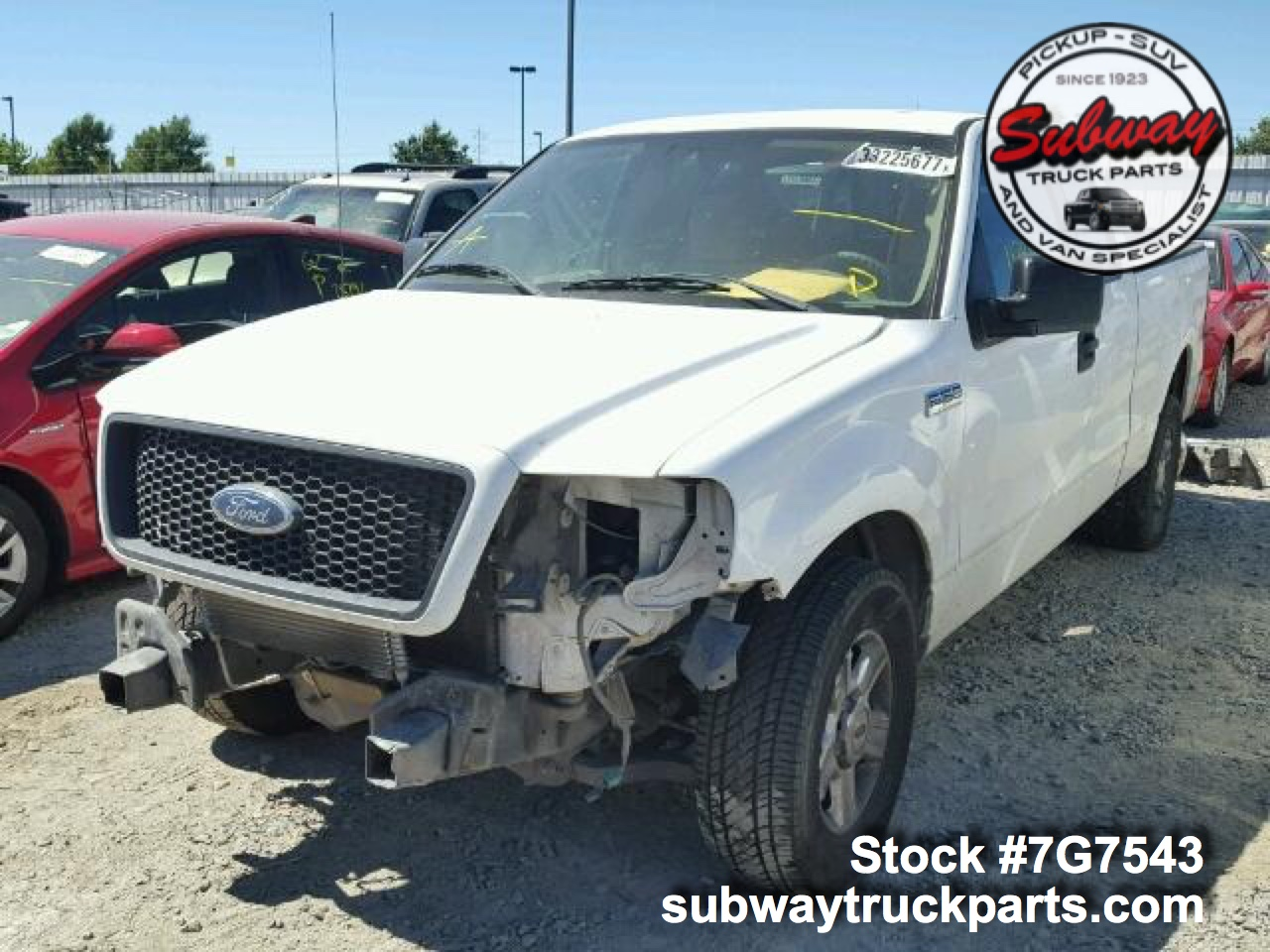 Used Parts 2004 Ford F150 XLT 5.4L 4x2 | Subway Truck ...