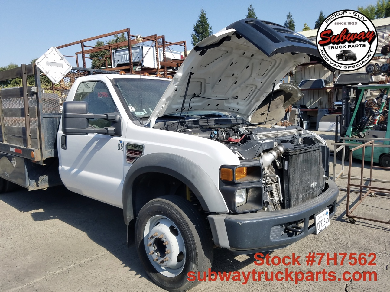 2017 Ford F .7 L V8 Diesel >> Used Parts 2008 Ford F450 XL Flatbed 6.4L 4x2 | Subway Truck Parts, Inc. | Auto Recycling Since 1923