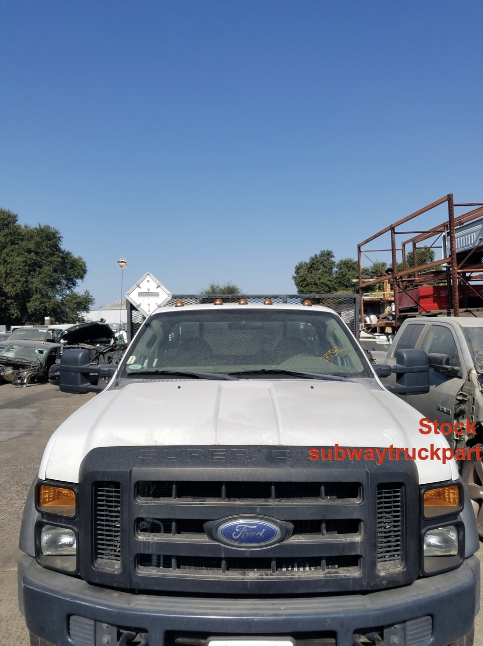 Used Parts 2008 Ford F450 Xl Flatbed 6 4l 4x2 Subway