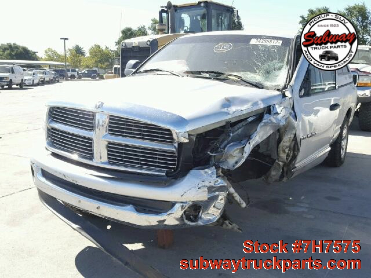 used parts 2005 dodge ram 5 7l laramie 4x4 subway truck parts inc auto recycling since 1923. Black Bedroom Furniture Sets. Home Design Ideas