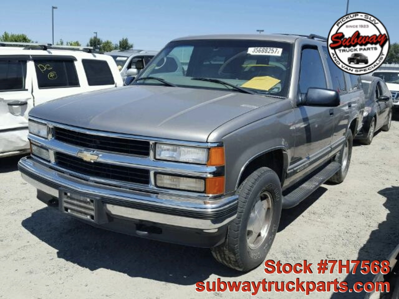 used parts 1999 chevrolet tahoe lt 5 7l 4x4 subway truck. Black Bedroom Furniture Sets. Home Design Ideas