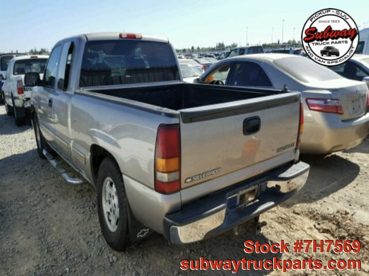 used parts 2001 chevrolet silverado 1500 5 3l 4x2 subway truck parts inc auto recycling. Black Bedroom Furniture Sets. Home Design Ideas