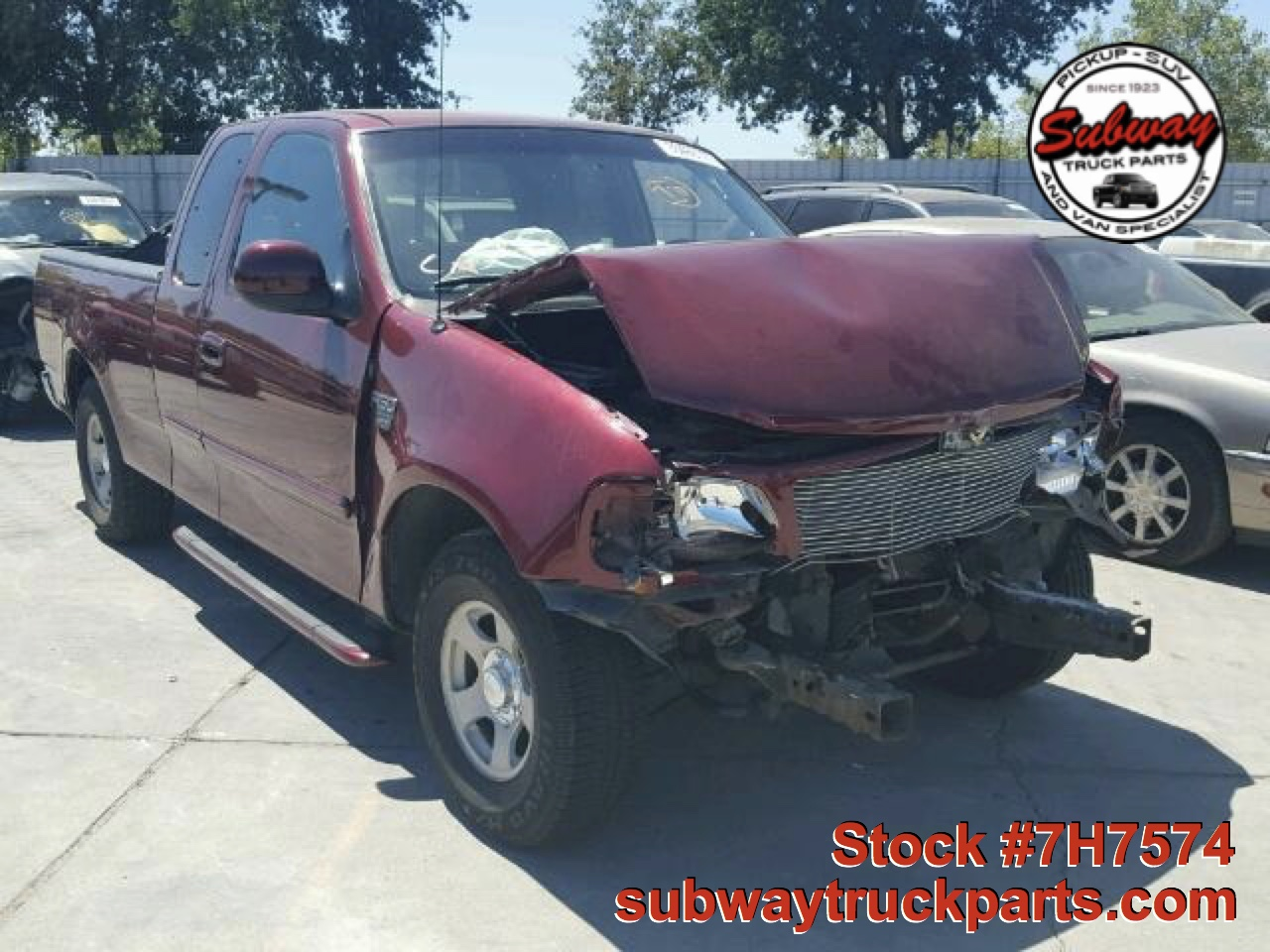 Used parts 1999 ford f150 xlt 4 6l 4x2