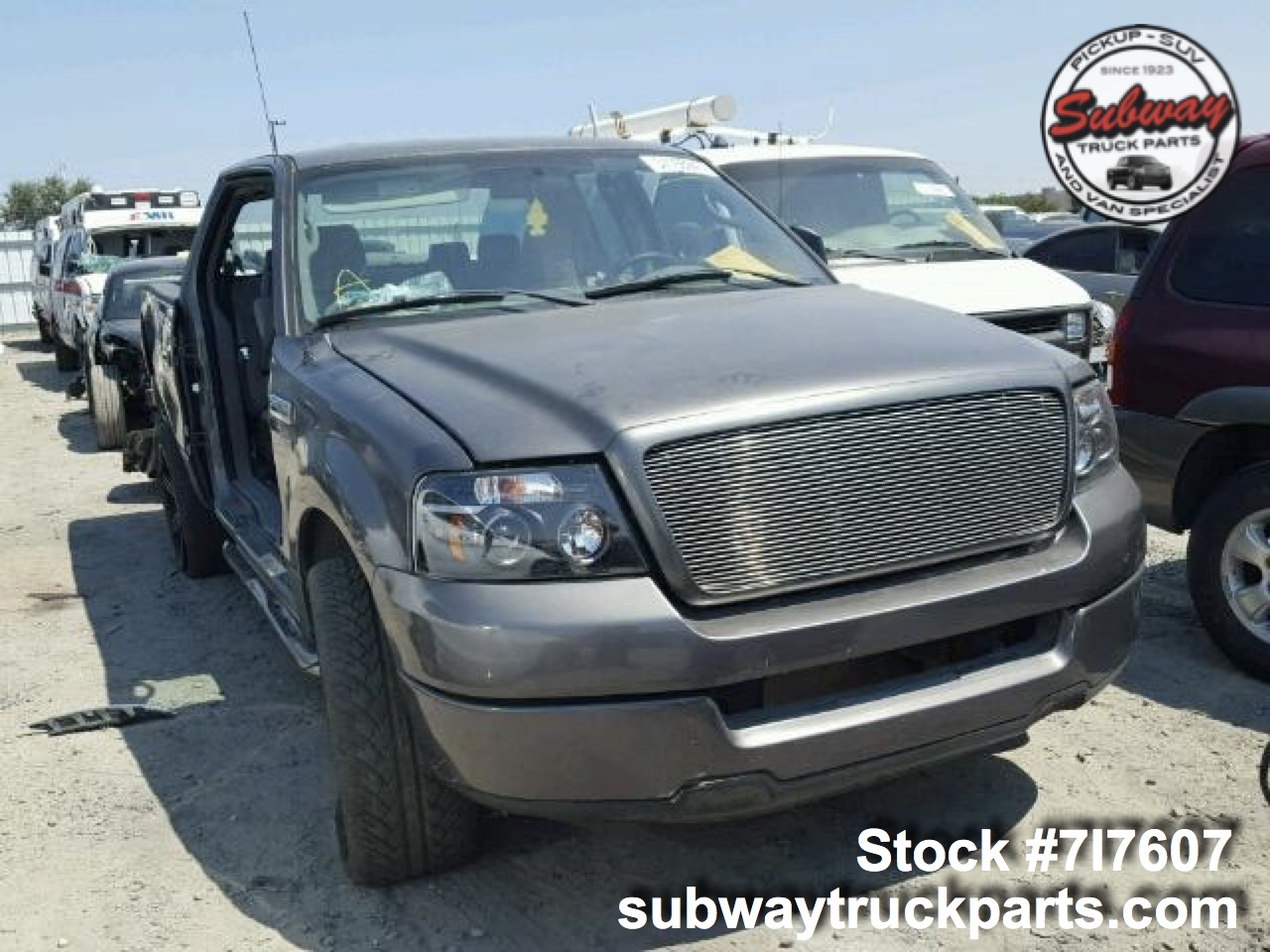 used parts 2005 ford f150 stx 4 6l 4x2 subway truck. Black Bedroom Furniture Sets. Home Design Ideas