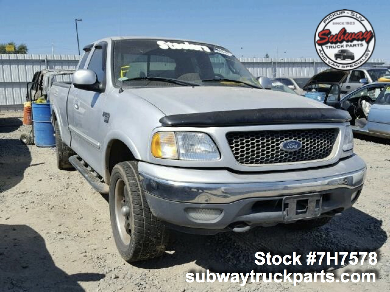 Ford Truck Parts >> Used Parts 2001 Ford F150 5 4l Xlt 4x4 Subway Truck Parts Inc