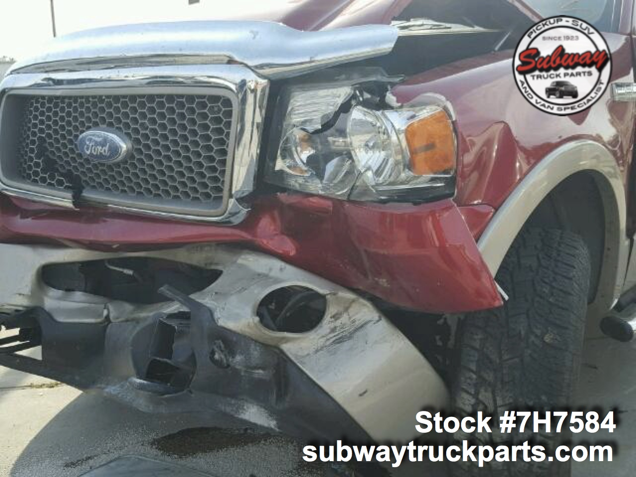 Used Parts 2007 Ford F150 Lariat 54l 4x4 Subway Truck Inc Starter Location 1 10