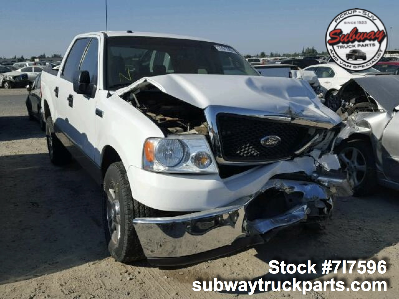 Used Parts 2008 Ford F150 Xlt 5 4l 4x2 Subway Truck Parts