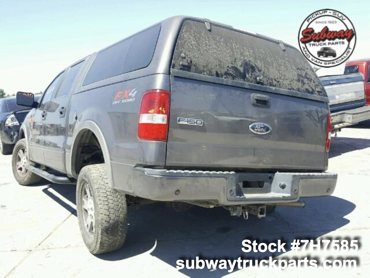 used parts 2004 ford f150 5 4l fx4 4x4 subway truck. Black Bedroom Furniture Sets. Home Design Ideas