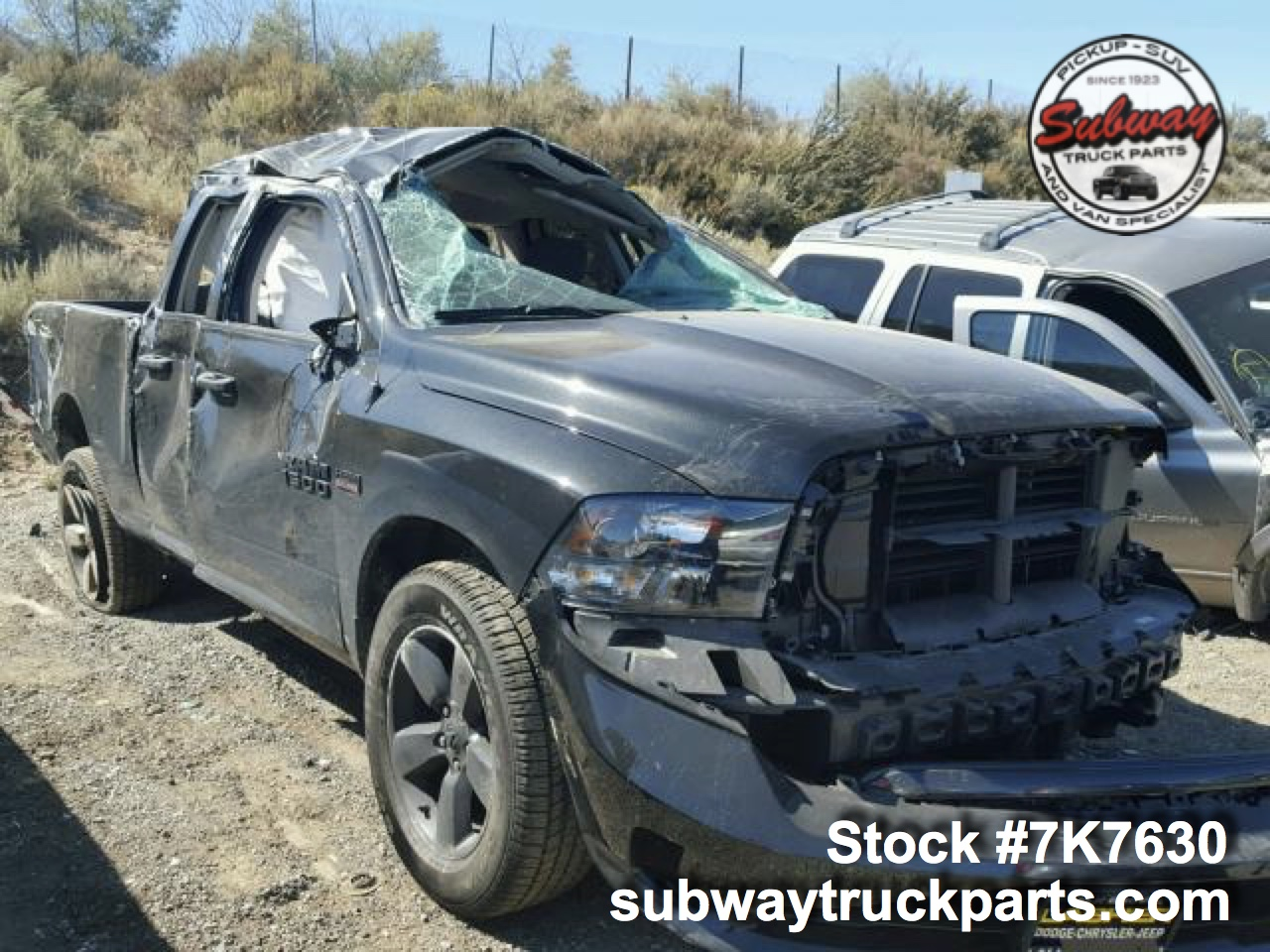 Used Parts 2017 Dodge Ram 1500 5 7l Hemi 4x4 Subway Truck Parts Inc