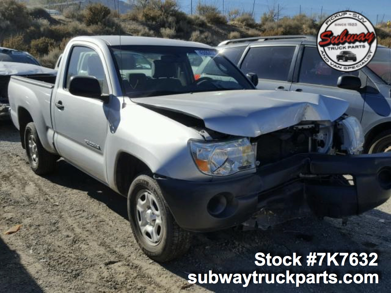 Toyota Pickup Parts >> Used Parts 2007 Toyota Tacoma 2 7l 4x2 Subway Truck Parts