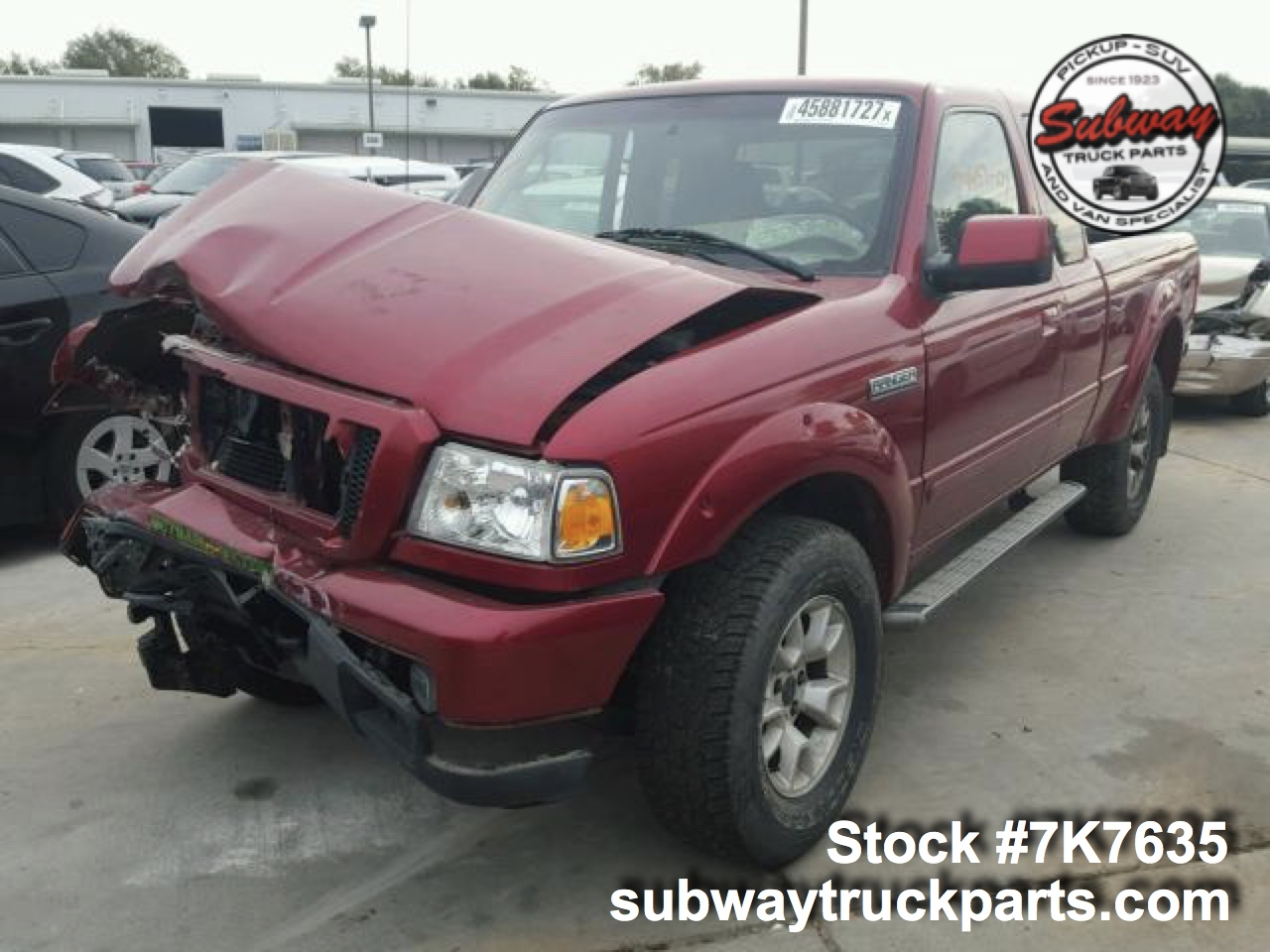 Used 2007 Ford Ranger Parts Sacramento Subway Truck Parts