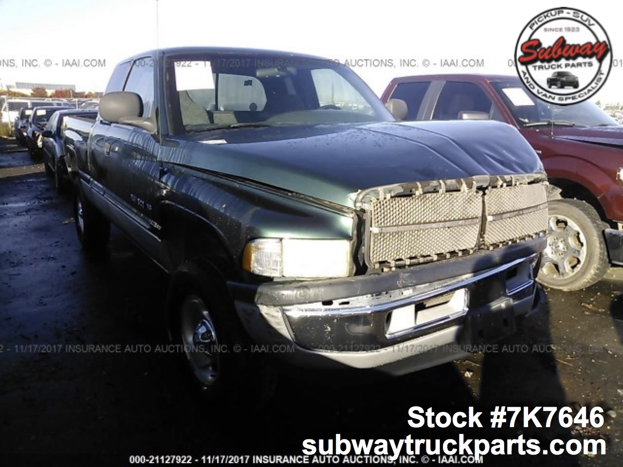 Dodge Truck Parts >> Used 2000 Dodge Ram 1500 Laramie 5 9l Parts Sacramento