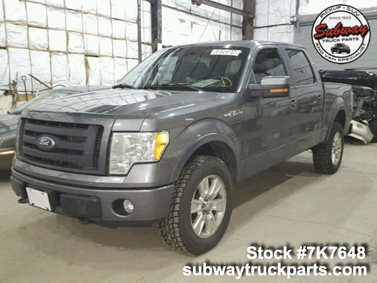 used 2010 ford f150 5 4l fx4 4x4 parts sacramento subway truck parts. Black Bedroom Furniture Sets. Home Design Ideas