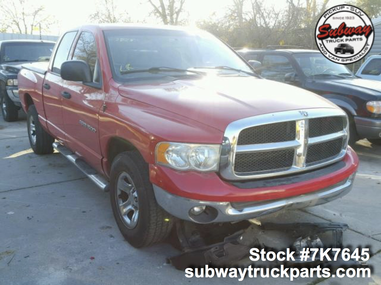 used 2004 dodge ram 1500 4 7l 4x2 parts sacramento subway truck parts. Black Bedroom Furniture Sets. Home Design Ideas