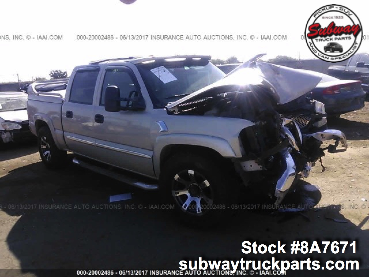 Gmc Truck Parts >> Used 2006 Gmc Sierra 1500 Parts For Sale Subway Truck Parts