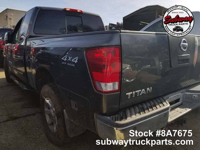 Used 2006 Nisan Titan 5 6l 4x4 Parts For Sale Subway