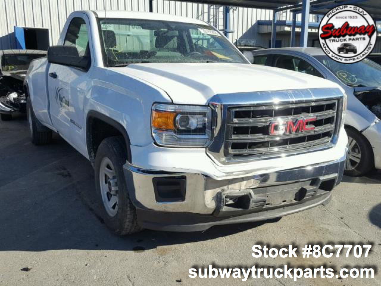 Gmc Truck Parts >> Used Parts 2015 Gmc Sierra 1500 Subway Truck Parts