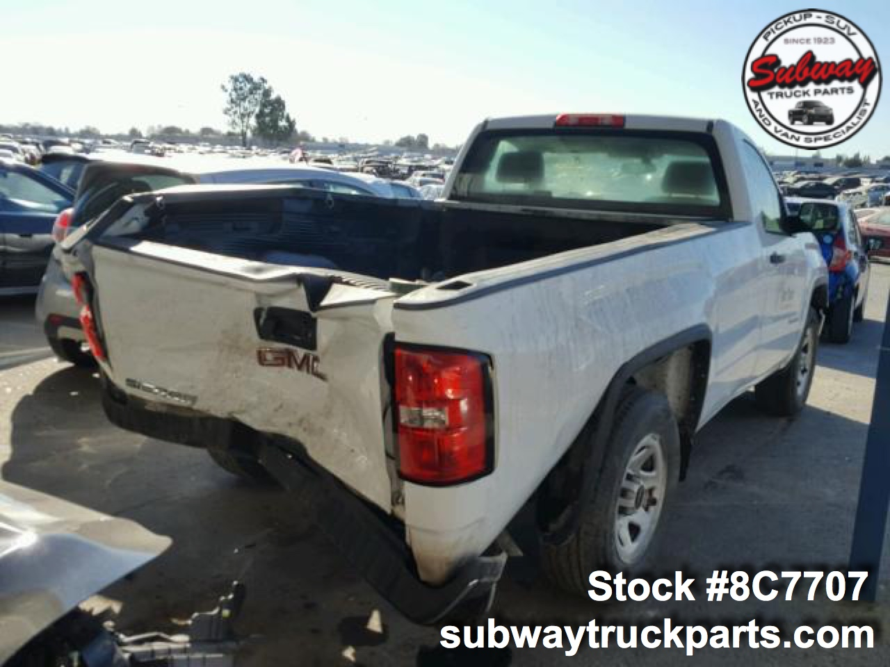 Used Parts 2015 Gmc Sierra 1500 Subway Truck Parts
