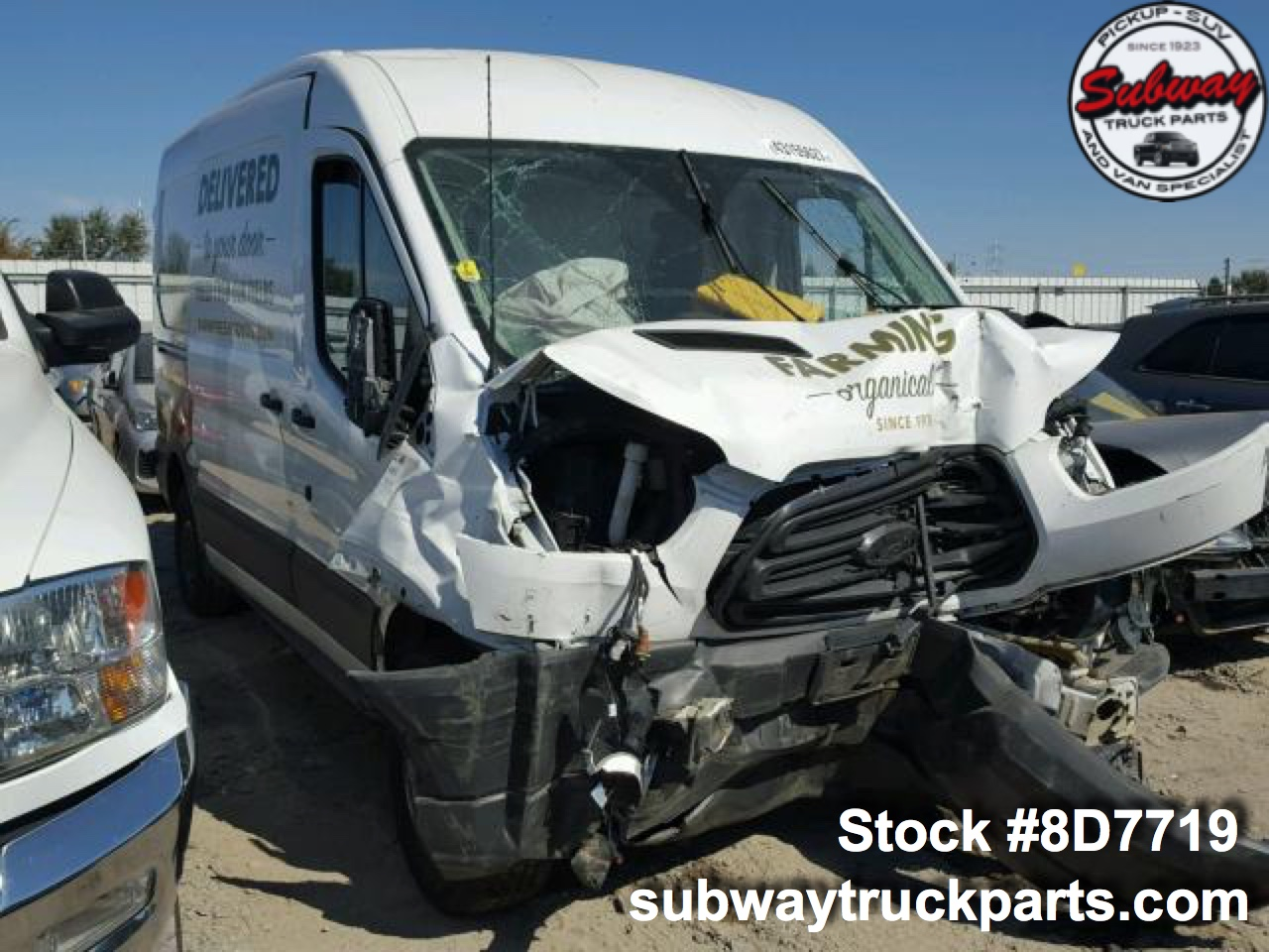 Used 2015 Ford Transit 150 Cargo Van Parts Subway Truck Parts