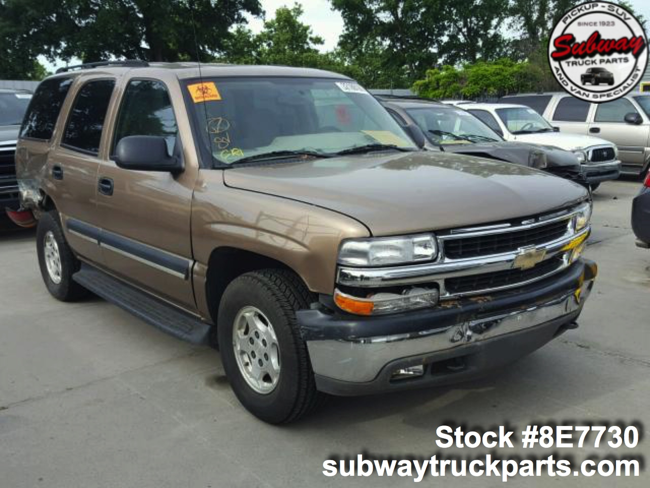tahoe 2004 parts chevrolet 3l truck 4x4 print sacramento wrecked aftermarket send friend pickup subway subwaytruckparts