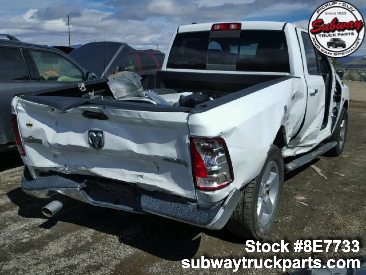 Dodge Truck Salvage Yards >> Used Parts Dodge Ram 1500 Big Horn Subway Truck Parts