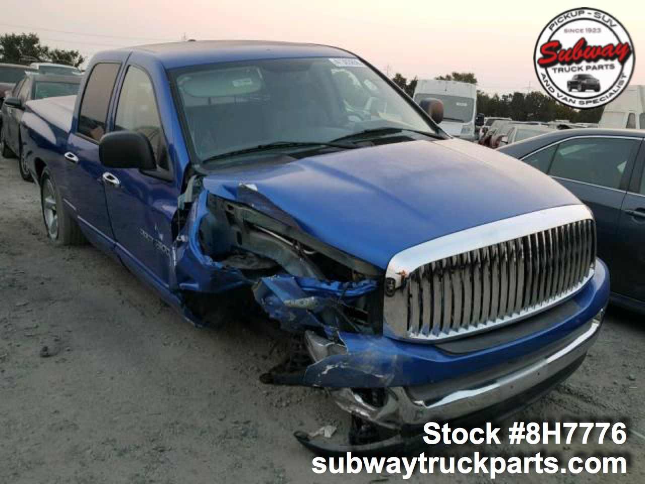 Used Parts 2007 Dodge Ram 1500 5 7l Subway Truck Parts