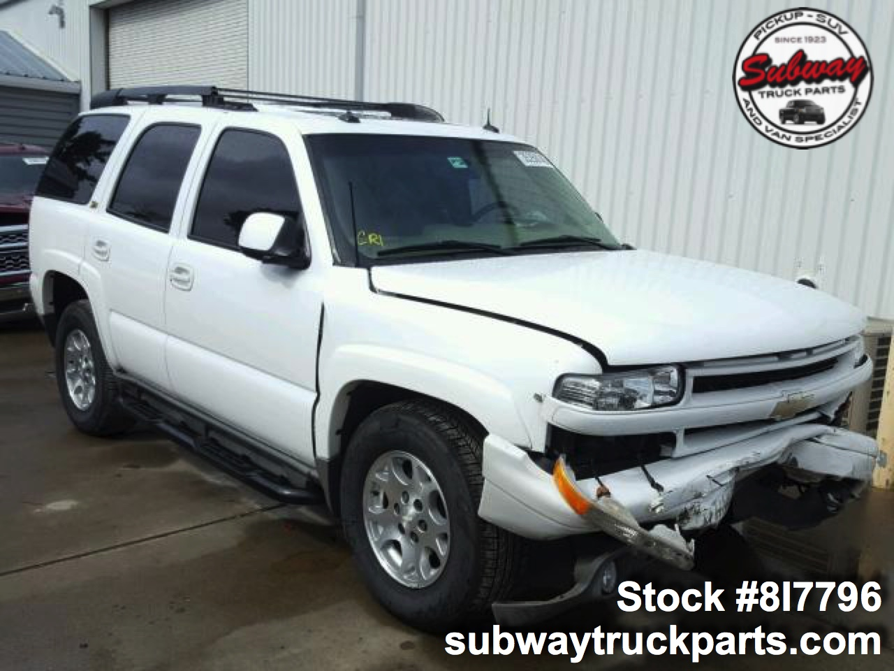 Used Parts 2003 Chevrolet Tahoe Z71 5 3l Subway Truck Parts