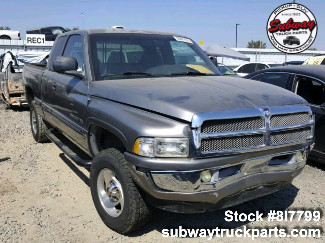 Dodge Truck Parts >> Used Parts 1999 Dodge Ram 1500 5 9l 4x4 Subway Truck Parts