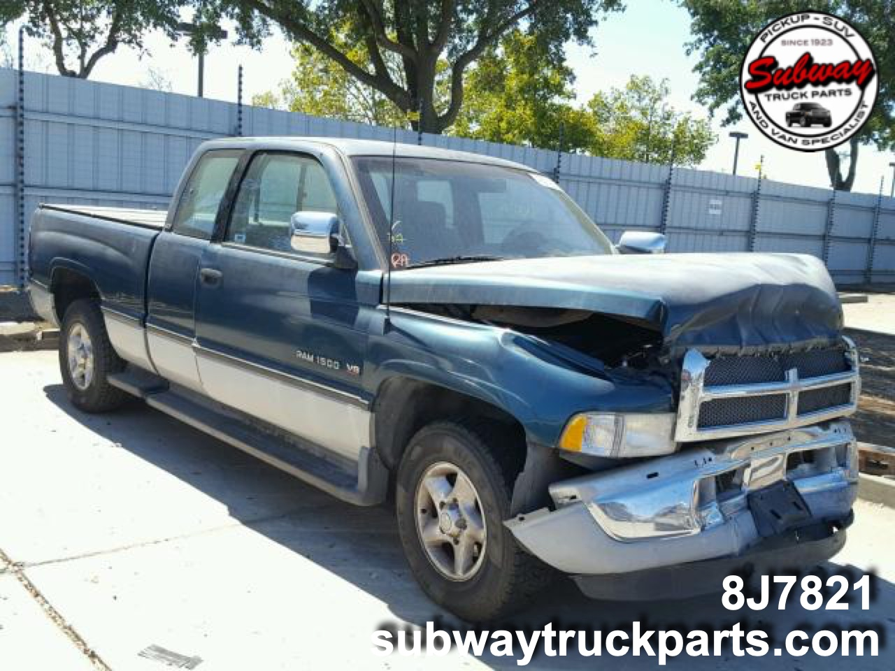 Dodge Truck Parts >> Used Parts 1996 Dodge Ram 1500 5 9l 4x2 Subway Truck Parts