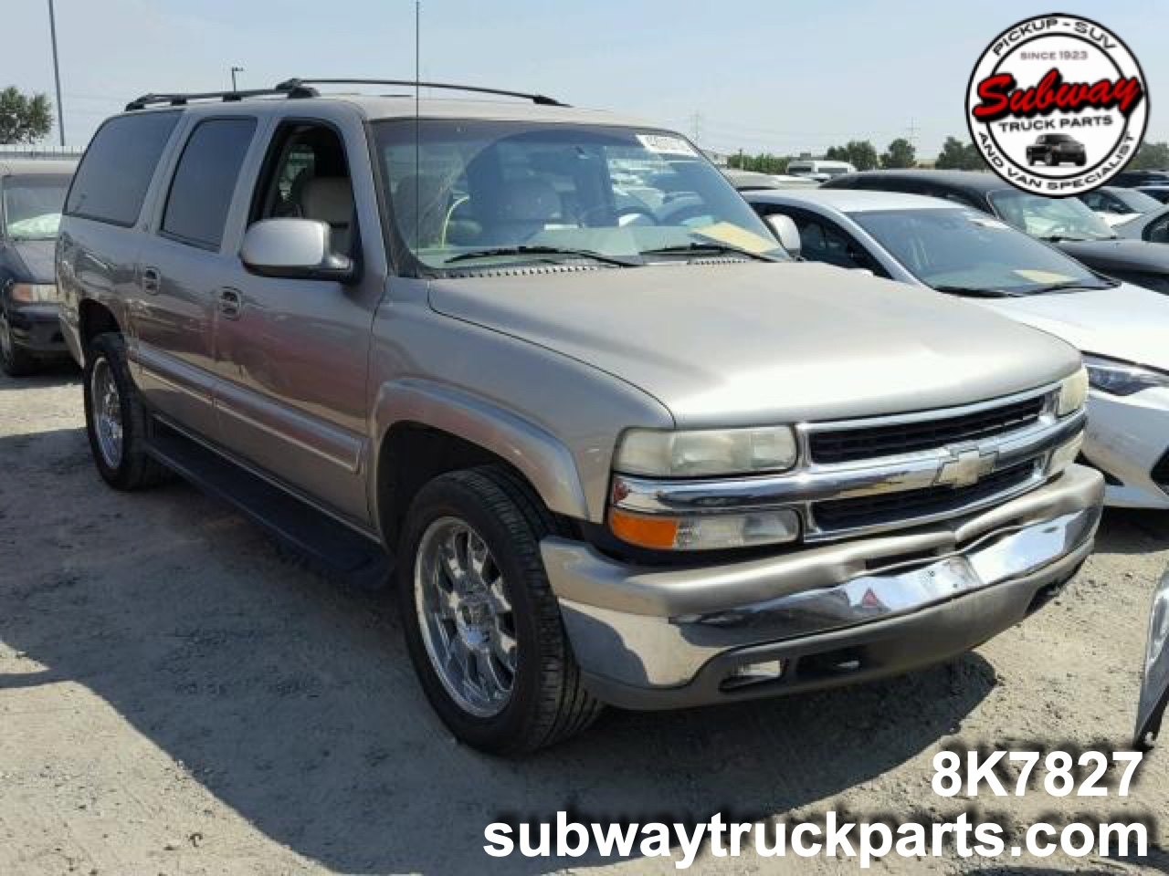 Pleasing Used Parts 2001 Chevrolet Suburban 1500 5 3L 4X4 Subway Caraccident5 Cool Chair Designs And Ideas Caraccident5Info