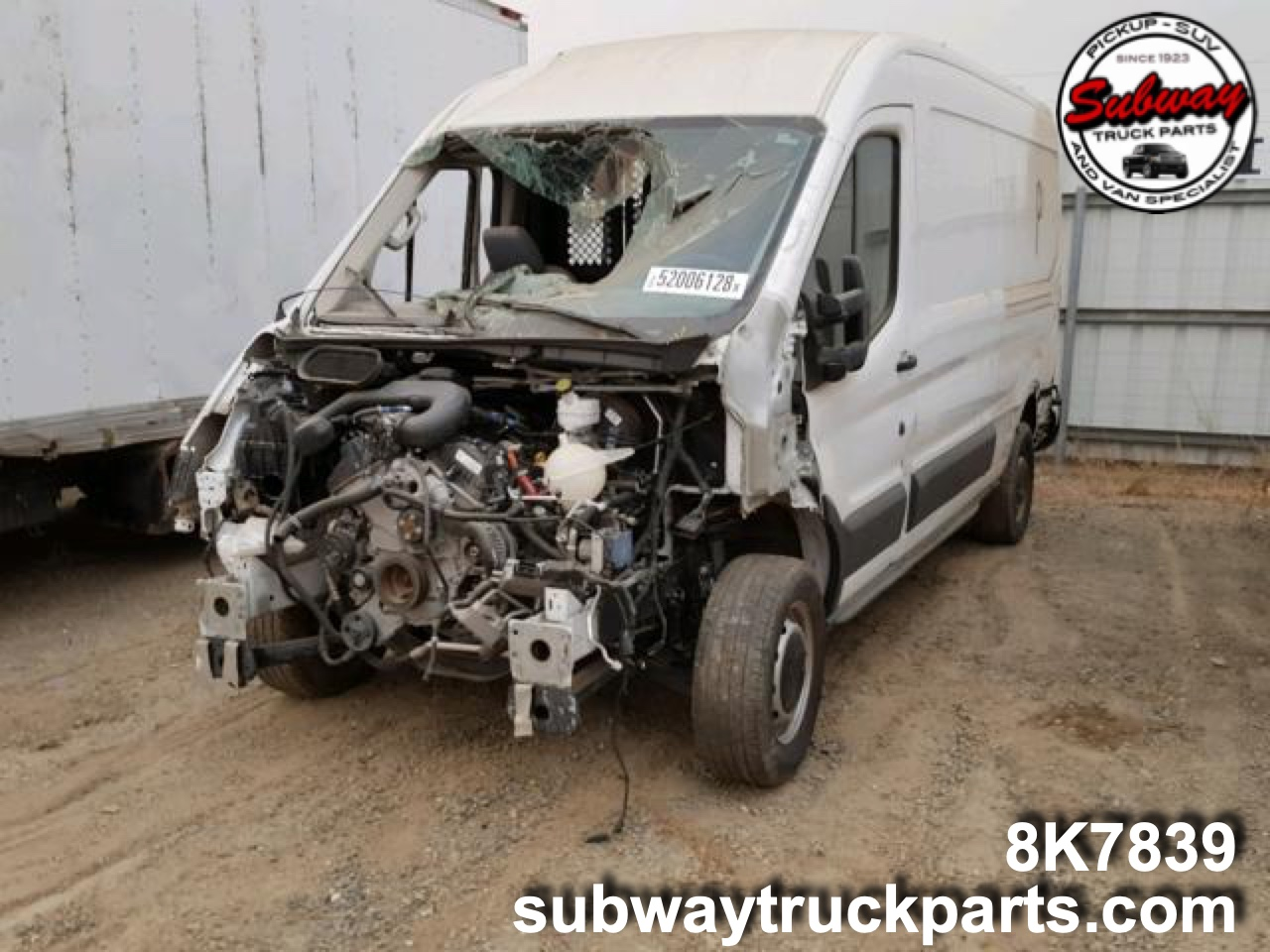 Used Parts 2015 Ford Transit T350 Cargo Van 3 7l Subway